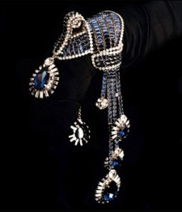 A deco-inspired bracelet by Robert Sorrell