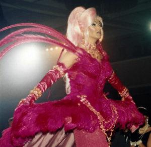 Lita Austin approaches her coronation