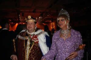 Emperor XVI Craig Hollywood and Empress XXI B